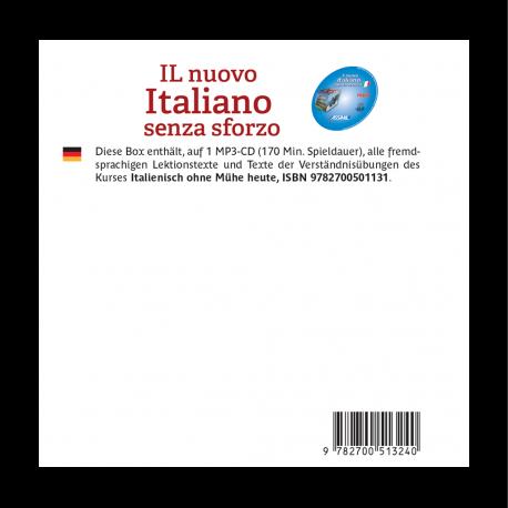 Il nuovo Italiano senza sforzo (Italian mp3 CD)