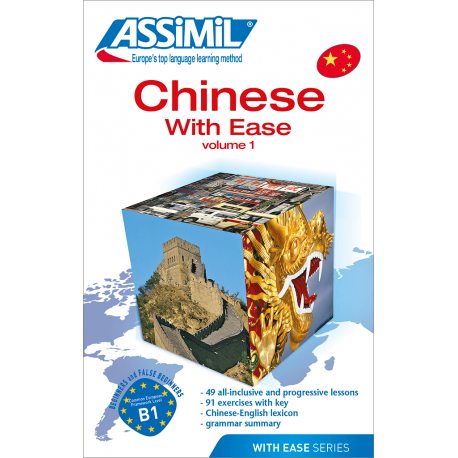 Chinese With Ease - Volume 1 (livre seul)