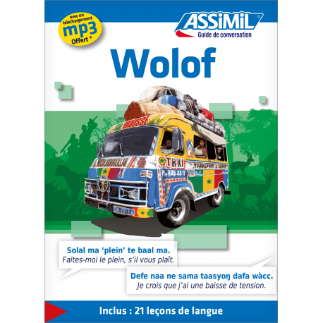 Wolof (phrasebook only)
