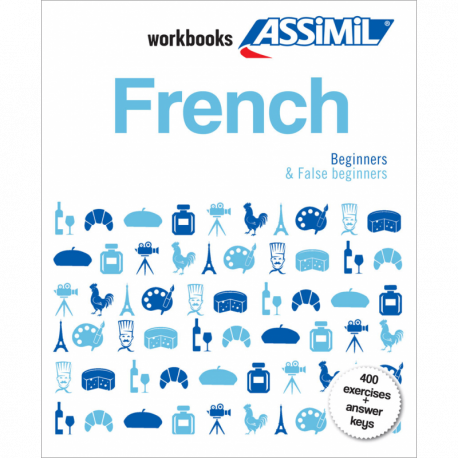French workbook box set Beginners & False Beginners