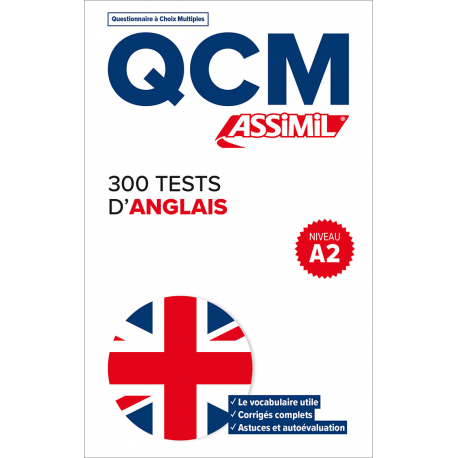 300 tests d'anglais - Niveau A2