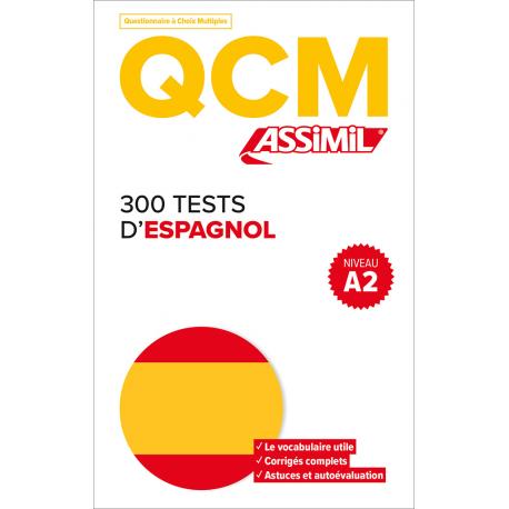 300 tests d'espagnol niveau A2