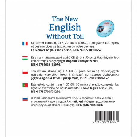 The New English Without Toil (English audio CD)