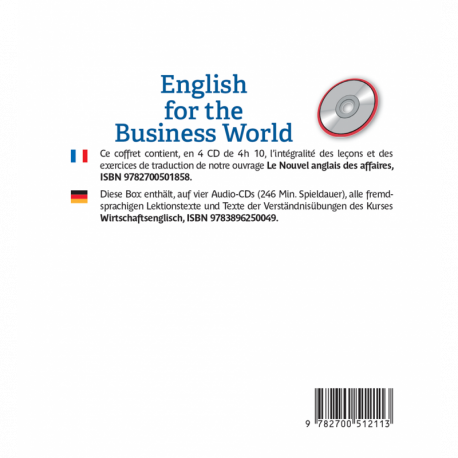 English for the Business World (Business English audio CD)
