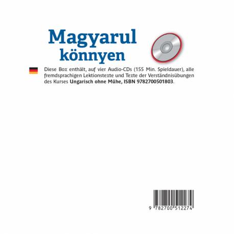 Magyarul Könnyen (CD audio Hongrois)