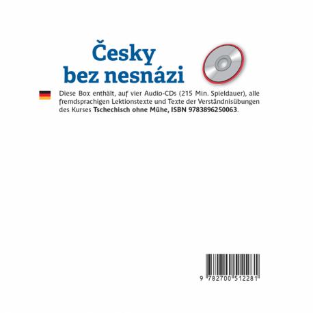 Česky Bez Nesnázi (CD audio Tchèque)