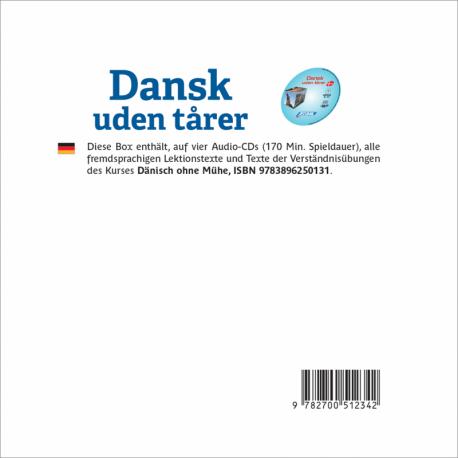 Dansk Uden Tårer (CD audio Danois)