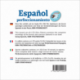 Español perfeccionamiento (CD audio Espagnol)