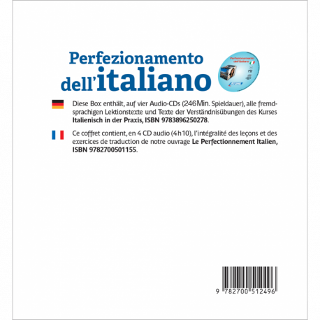 Perfezionamento dell'italiano (Using Italian audio CD)