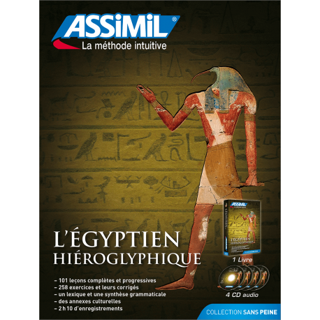 L'égyptien hiéroglyphique (pack CD audio)