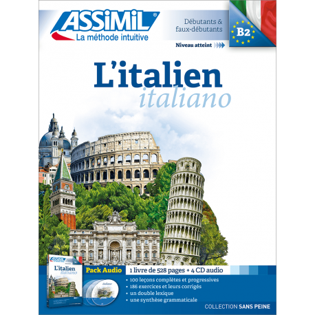 L'italien (pack CD audio)