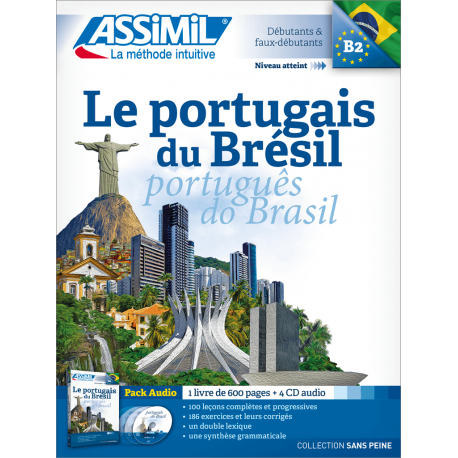 Le portugais du Brésil (pack CD audio)