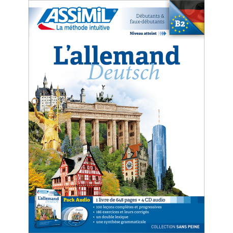 L'allemand (pack CD audio)