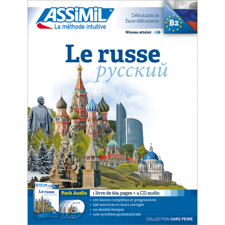 Le russe (audio CD pack)