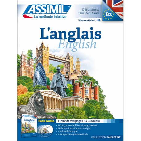L'anglais (audio CD pack)