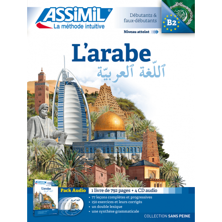L'arabe (audio CD pack)