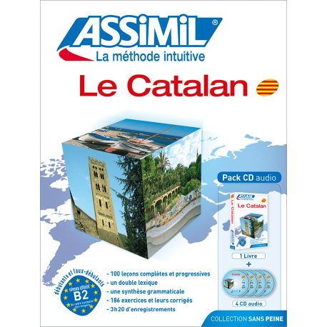 Le catalan (audio CD pack)