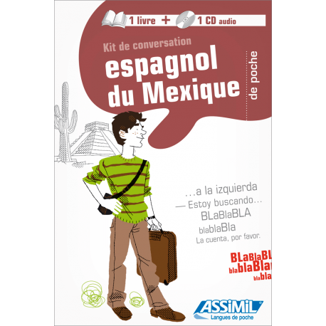 Espagnol du Mexique de poche (1 book + 1 audio CD)