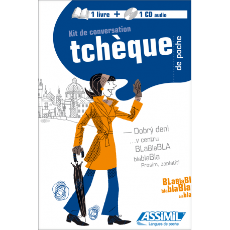 Tchèque de poche (1 libro + 1 CD audio)