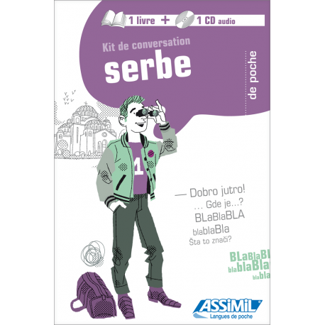 Serbe de poche (1 book + 1 audio CD)
