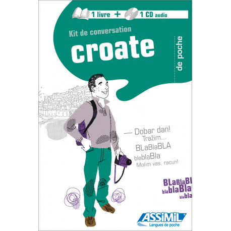 Croate de poche (1 livre + 1 CD audio)