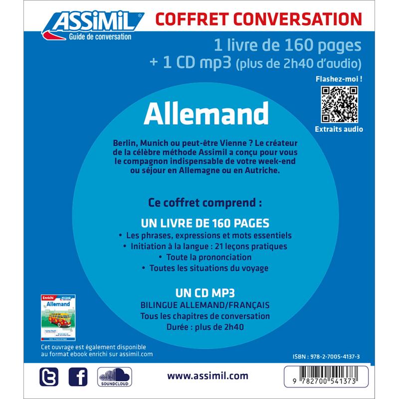 S Initier A La Conversation Avec Le Guide D Allemand Et L Audio Assimil