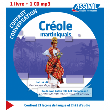 Créole martiniquais (Phrasebook box)