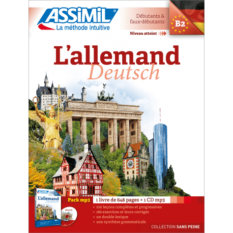 L'allemand (pack mp3)
