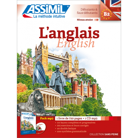 L'anglais (pack mp3)