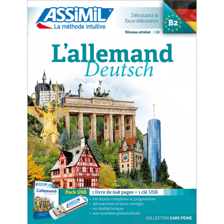 L'allemand (pack USB)