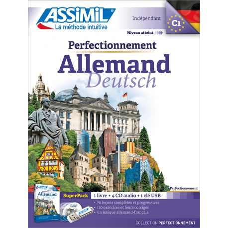 Perfectionnement Allemand (superpack)