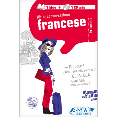 Il Francese in tasca (1 livre + 1 CD audio)