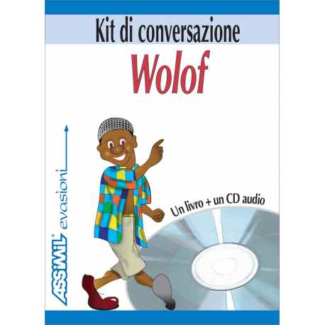 Il wolof in tasca (1 book + 1 audio CD)