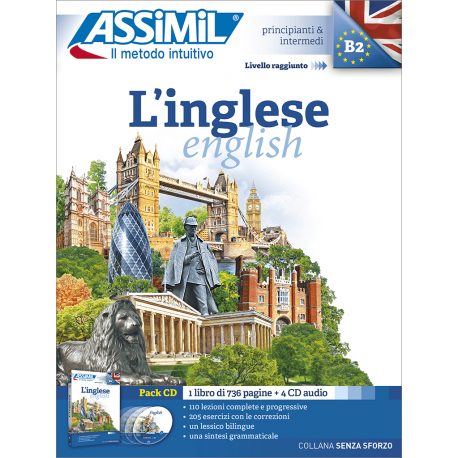 L'inglese (pack CD audio)