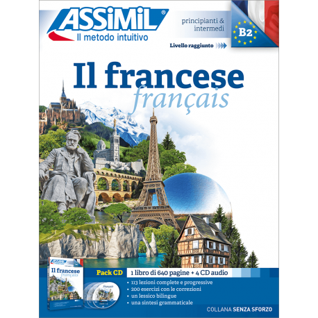 Il francese (audio CD pack)