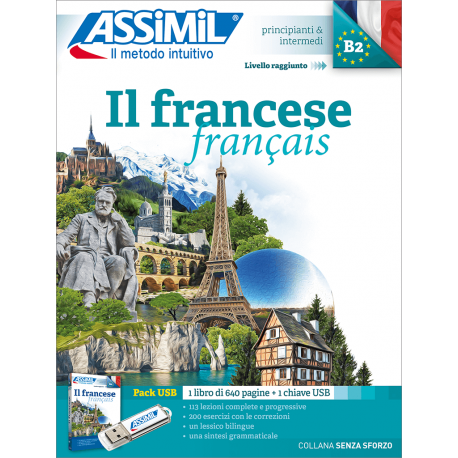 Il francese (pack USB)