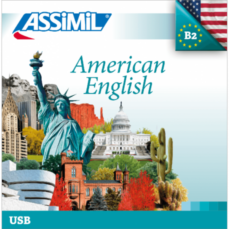American English (USB mp3 Anglais d'Amérique)