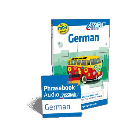 German (phrasebook + mp3 download)