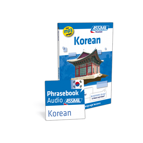 Korean (phrasebook + mp3 download)
