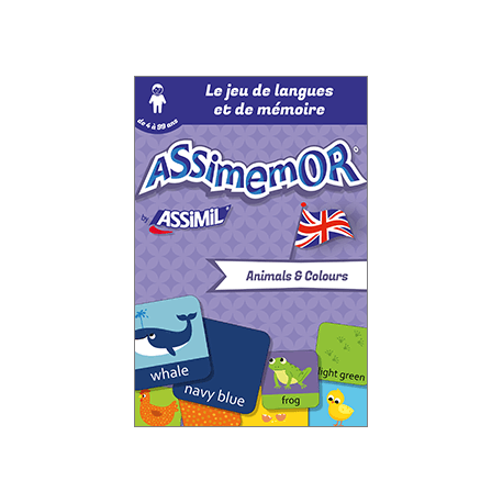 Mes premiers mots anglais : Animals and Colours (enhanced ebook)
