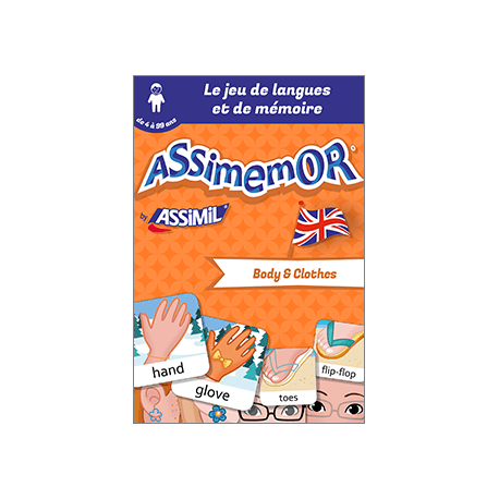 Mes premiers mots anglais : Body and Clothes (enhanced ebook)
