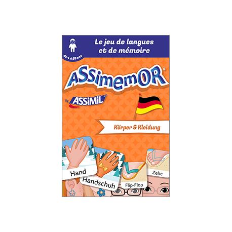 Mes premiers mots allemands: Körper und Kleidung (livre numérique enrichi)