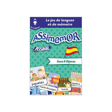 Mes premiers mots espagnols: Casa y Objetos (livre numérique enrichi)