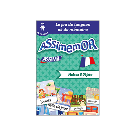 Mes premiers mots français : Maison et Objets (enhanced ebook)