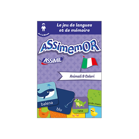 Mes premiers mots italiens : Animali e Colori (enhanced ebook)