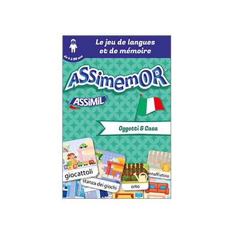 Mes premiers mots italiens: Oggetti e Casa (livre numérique enrichi)