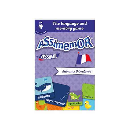 My First French Words: Animaux et Couleurs (livre numérique enrichi)
