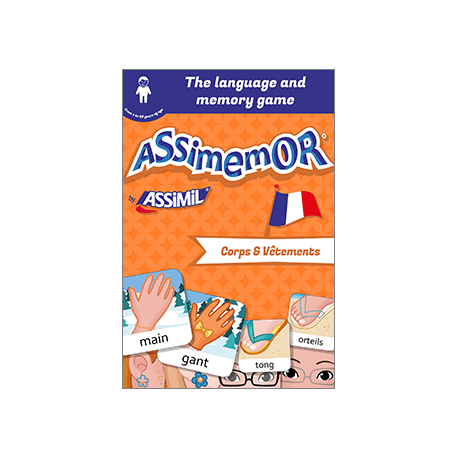 My First French Words: Corps et Vêtements (enhanced ebook)