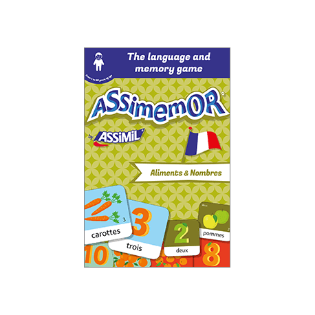 My First French Words: Aliments et Nombres (enhanced ebook)