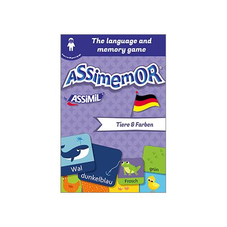 My First German Words: Tiere und Farben (livre numérique enrichi)